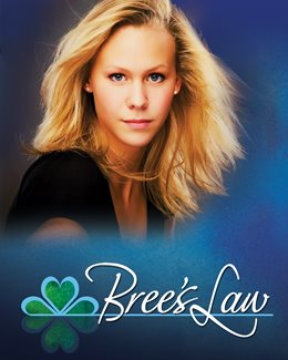 Photo of Bree with the text Bree's Law at the bottom